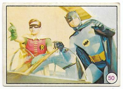 1967 Scanlens Batman BAT LAFFS  # 50 ****
