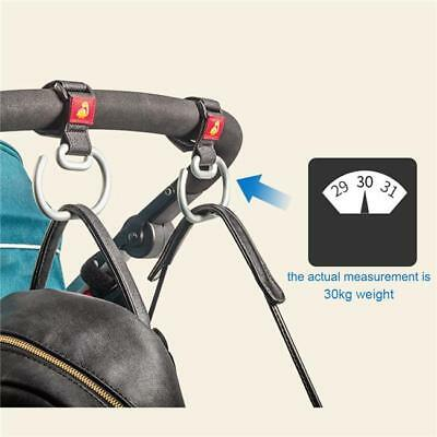 Stroller Pram Pushchair Aluminum Hook Clip Hanger for Wheelchair Handbag JA