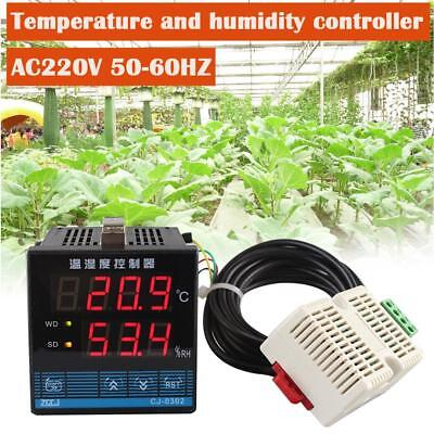 LED Digital Temperature Controller and Humidity Control & Sensor For Greenhouse