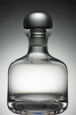 Contemporary Look, Plain Lead Crystal Glass Mallet Shaped Spirit Decanter  20 cm