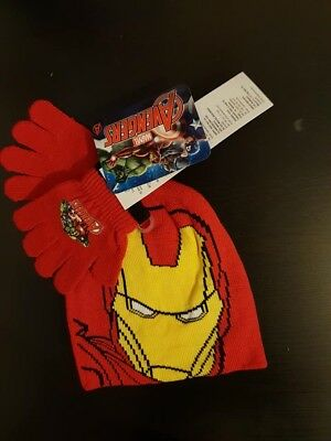 Avengers Hat And Gloves Set childs