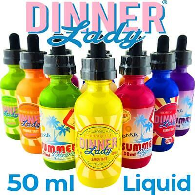 DINNER LADY - Liquid Premium E-Liquid E-Zigarette Lemon Tart Nikotin 50 ml 60ml