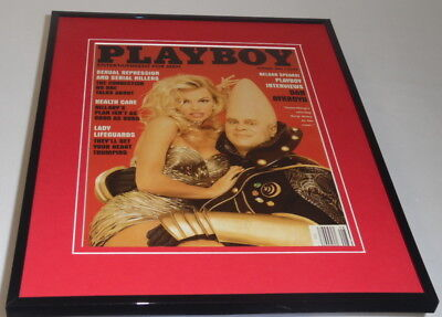 Playboy Magazine August 1993 Framed 11x14 Cover Display Pam Anderson Coneheads