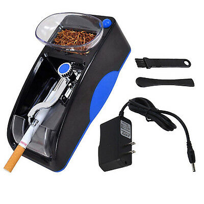 Cigarette Roller Tobacco Rolling Machine Electric Automatic Injector Maker Blue