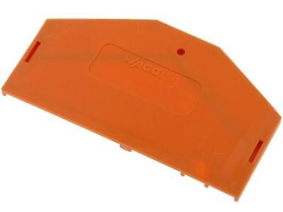 281-313 End/partition plate Application281-6 281 orange WAGO