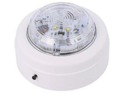 SOLX/WF/CL/W/S Signaller lighting flashing light Colour white 9÷60VDC