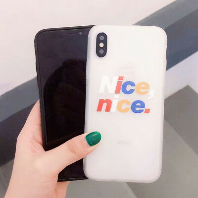 Silicone Shockproof Cute Cartoon TPU Phone Case Cover For iPhone X 8 7 6s Plus