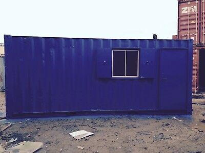 20ft  Container Office/Store 50/50 FOR HIRE - Lancashire