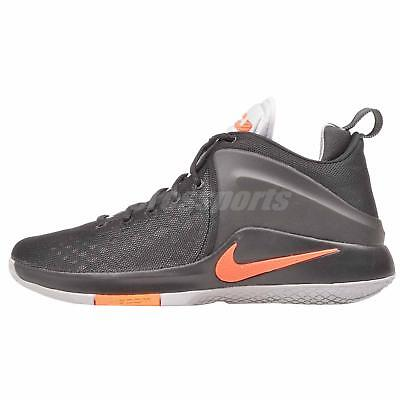 the best attitude 9484b 871a7 Nike Zoom Witness Basketball Mens Shoes Black Grey 852439-006