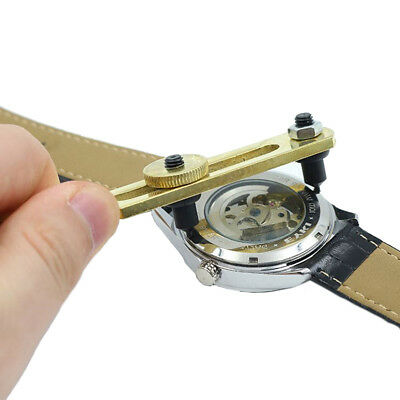 Watch Back Case Cover Opener Adjustable Remover Repair Wrench Watchmaker Tool