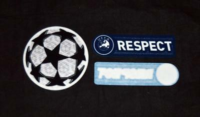 Official 2011/12 Champions League Starball/Respect Lextra senscilia Badge/Patch