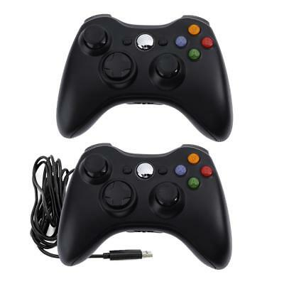 Wireless/ Wired Gamepad Game Controlle Joystick for Microsoft/360 Xbox 360 Slim