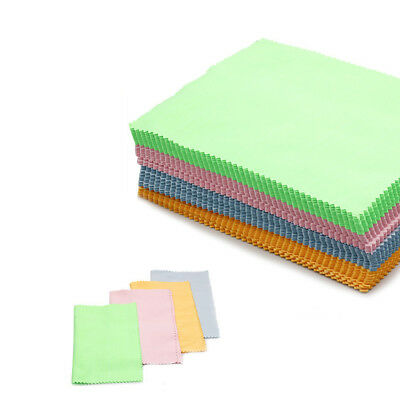 New Cleaning Cloth Microfiber Screen Camera Lens Glasses Square Cleaner 100 Pcs