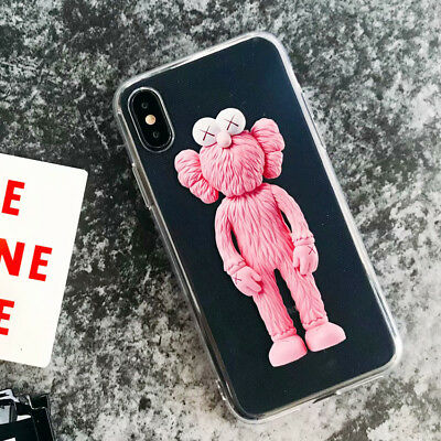 TPU Phone Case Silicone Cover Cartoon Sesame Street  For iPhone X 8 7 6/6S Plus