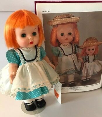 Vintage R&B Lil Imp Doll Littlest Angel Orange Hair Vogue Tagged Outfit+Hang Tag