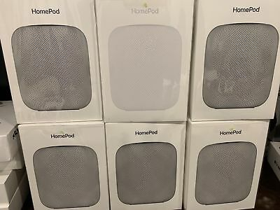 Brand New Apple HomePod Wireless Smart Speaker Space Gray MQHW2LL/A Sealed