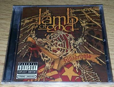 "LAMB OF GOD  ""Killadelphia""  Live   PA/Explicit  NEW  (CD, 2005, Epic)"