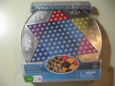 Chinese Checkers, Checkers & Chess, board game set, Brand New and Sealed