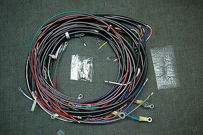 NEW 1980-84 HARLEY-DAVIDSON FLH Complete Wiring Harness