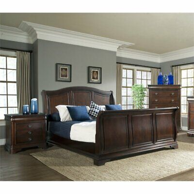 Picket House Furnishings Conley 3 Piece King Sleigh Bedroom Set