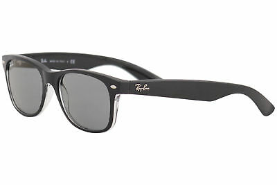47ebb8f271 Ray Ban Men s New Wayfarer RB2132 RB 2132 RayBan 6398 Y5 Black Sunglasses  55mm