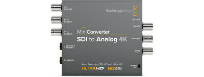 BlackMagic Design: SDI to Analog 4k MiniConverter