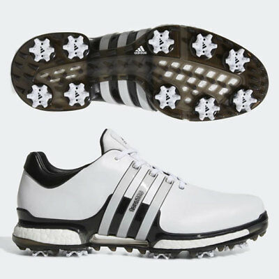 5652a662 NEW 2018 ADIDAS Tour 360 Boost 2.0 Golf Shoes Q44985 White / Black ...