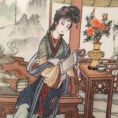 Imperial Jingdezhen 'Beauties of the Red Mansion' Plate #6 YING-CHUN - BRAND NEW