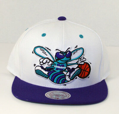 new product 9c54f 5e686 ... cheap mitchell ness charlotte hornets nba flat brim snapback hat cap  new wool blend cea17 4b5af