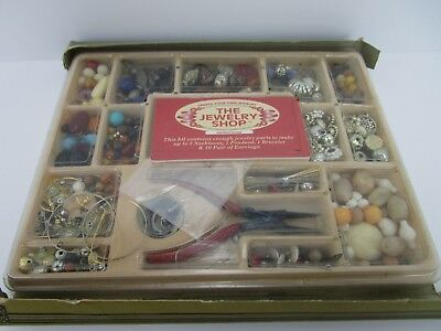 Vintage Winegeroff Jewelry Making Bead Kit with Instructions - Free Shipping
