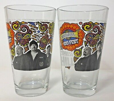SweetWater Brewing Co - 420 Fest - Cypress Hill - 16 Ounce Pint Glass - (2) Pack