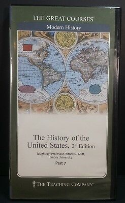 Great Courses / Teaching Company HISTORY OF THE UNITED STATES 2nd Ed. Part 7 DVD
