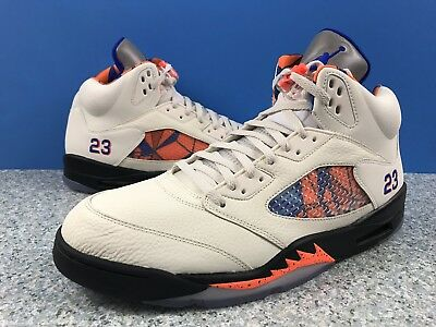 08655ac53043 Nike Air Jordan 5 V Retro International Flight 136027-148 Sz 15 Sail Cone  Blue