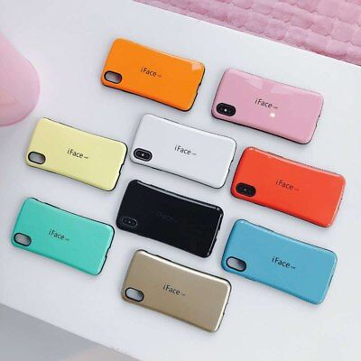 iFace-mall Phone Case For iPhone MAX Shockproof Back Cover Hybrid TPU + PC Case