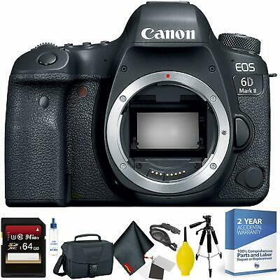 Canon EOS 6D Mark II DSLR Camera Body Only + 64GB Memory Card Bundle002