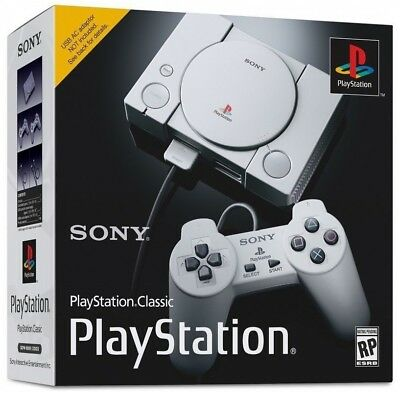 SONY PLAYSTATION CLASSIC MINI CONSOLE PS1 PSX PSOne PS4 VINTAGE PLAY STATION 1