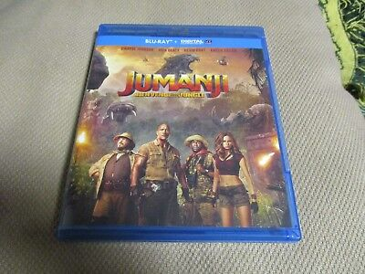 "BLU-RAY NEUF ""JUMANJI : BIENVENUE DANS LA JUNGLE"" Dwayne JOHNSON, Jack BLACK"