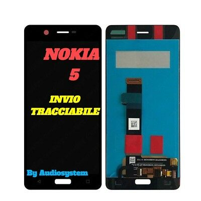 P1 Display Lcd+Touch Screen Nokia Per 5 N5 Ta-1024 Ta-1027 1044 1054 Nero Vetro
