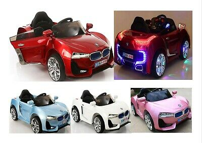 BMW Sports Style 12V Electric Ride on Car For Kids Remote Control,LED&MP3 MUSIC