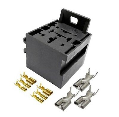 Heavy Duty Relay Base Holder Multi Plug Socket With Terminals Durite 0-729-04