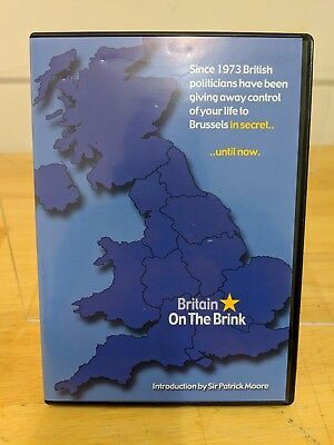 Britain on the Brink DVD POLITICAL FILM Sanity Introduction by Sir Patrick Moore