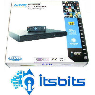 Laser Dvd Hd011 Hd Digital Dvd Player Hdmi Rca & Remote Usb Port Multi Region
