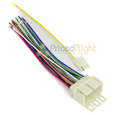 EARLY GM CAR Stereo Wiring Harness for Aftermarket Radio CD Player on