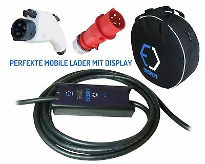 YAZAKI mobile lader Typ1 - CEE 5pin   32A   1phase   8m   7,4kW