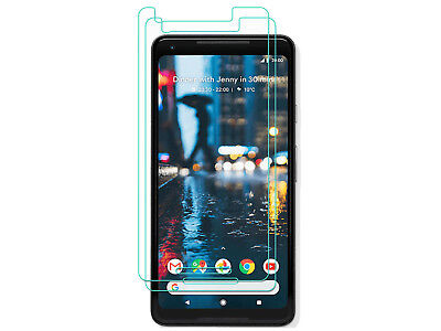 2 Pack Premium Tempered Glass Screen Protector For Google Pixel 2