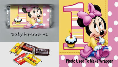 Baby Minnie Mouse 1st Birthday Party Favors