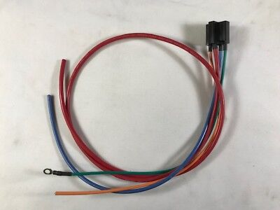 "Mini Relay Connector with 12"" Leads and 36"" Power Lead"
