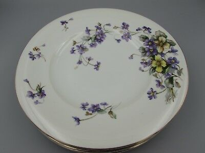 """Meito Norleans China ADELE Dinner Plates - Set of Four - 10 1/2"""""""