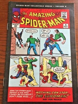 2006 The Amazing Spider-Man Collectible Series Volume 8 Reprint From 1963