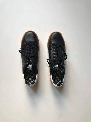 sports shoes e501b a30df Adidas Raf Simons Stan Smith Black Orange-White BB2647 Men s SZ 11.5